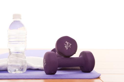 Meditating「Purple dumbbell」:スマホ壁紙(16)
