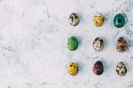イースター「Multi-colored Easter eggs」:スマホ壁紙(11)