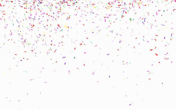 Multicolored confetti:スマホ壁紙(壁紙.com)