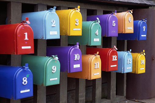 1990-1999「Multicolored Mailboxes」:スマホ壁紙(7)