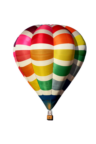 気球「色とりどりの熱気球」:スマホ壁紙(9)