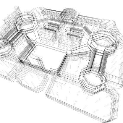 Skyscraper「Apartment Blueprint」:スマホ壁紙(18)