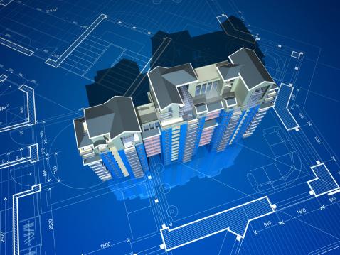 Engineer「Apartment Building On Construction」:スマホ壁紙(5)