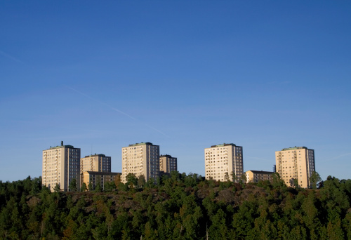 Housing Project「Apartment buildings」:スマホ壁紙(10)