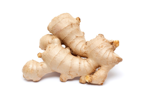 Ginger - Spice「Ginger root isolated on white background」:スマホ壁紙(0)