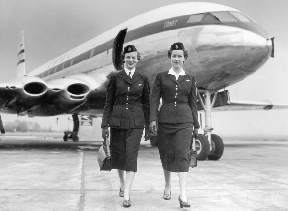 歩く「BOAC Stewardesses」:写真・画像(13)[壁紙.com]