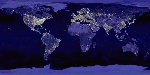 Orbiting「Global City Lights Shown In NASA Image」:写真・画像(3)[壁紙.com]