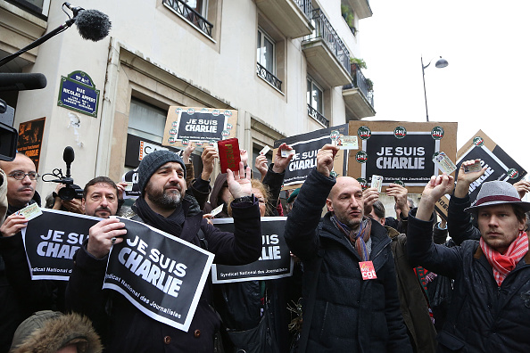 Charlie Hebdo「Global Reaction To The Terrorist Attack On French Newspaper Charlie Hebdo」:写真・画像(3)[壁紙.com]