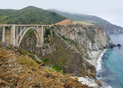Bixby Creek Bridge「Bixby Creek Bridge, Big Sur, California, USA」:スマホ壁紙(17)