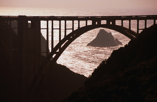 Bixby Creek Bridge「Bixby Creek Bridge, Big Sur, near Monterey Bay, Monterey Bay, United States of America」:スマホ壁紙(18)