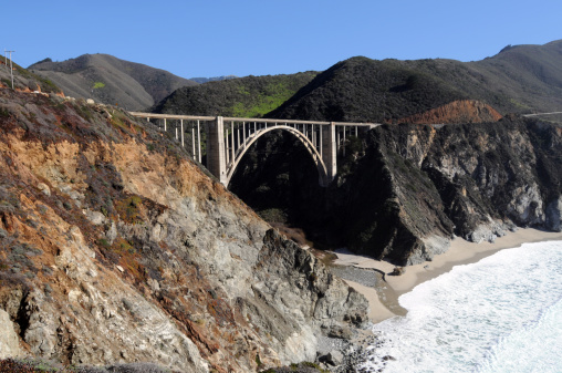 Bixby Creek Bridge「Bixby Creek Arch Bridge」:スマホ壁紙(2)