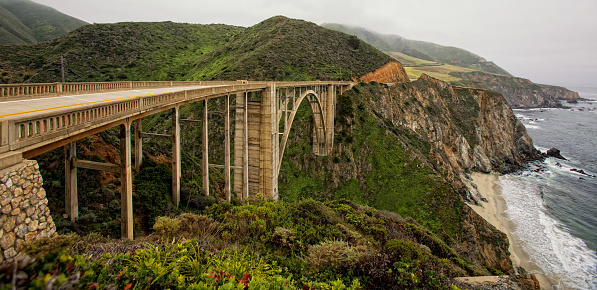 Big Sur「Bixby Creek Bridge」:スマホ壁紙(4)