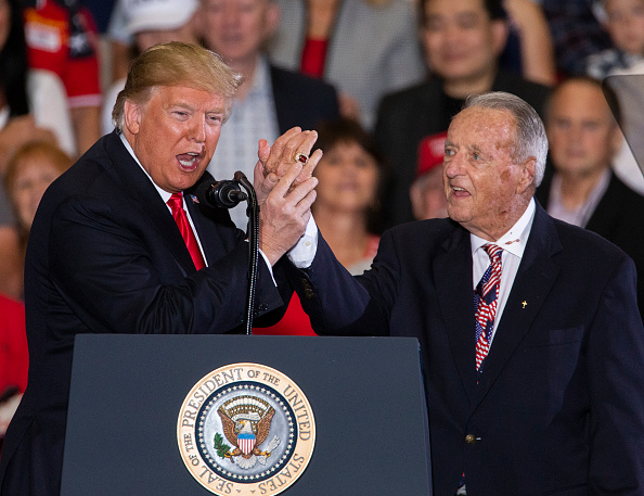 Florida - US State「President Trump Holds Campaign Rally In Pensacola, Florida」:写真・画像(1)[壁紙.com]