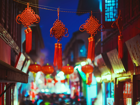 Chinese Lantern「Chinese knot」:スマホ壁紙(15)