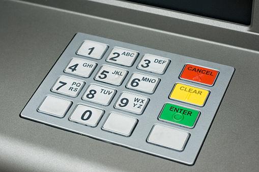 Number「ATM Keypad」:スマホ壁紙(10)