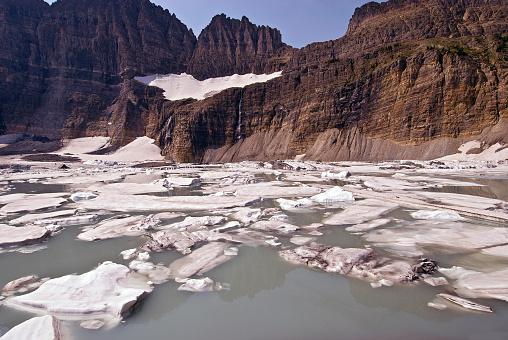 Grinnell Glacier「Grinnell Glacier in Glacier National Park, Montana」:スマホ壁紙(13)