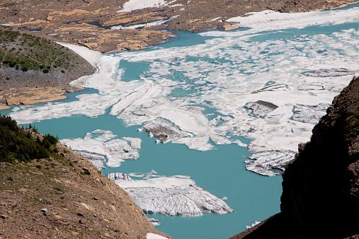 Grinnell Glacier「Grinnell Glacier in Glacier National Park, Montana.」:スマホ壁紙(4)