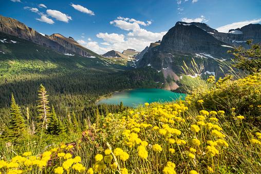 US Glacier National Park「Grinnell Glacier Trail」:スマホ壁紙(15)