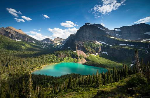 US Glacier National Park「Grinnell Glacier Trail」:スマホ壁紙(10)