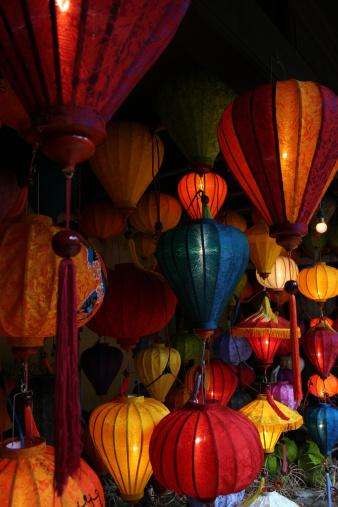Chinese Lantern「Variety of Silk Lanterns」:スマホ壁紙(17)