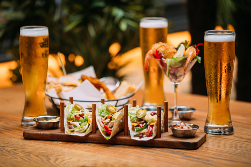 Taco「Variety of beer snack」:スマホ壁紙(10)