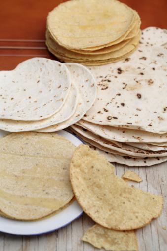 Tortilla - Flatbread「Variety of tortillas」:スマホ壁紙(11)