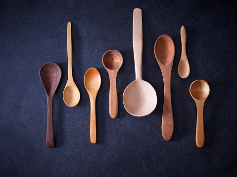 Spoon「Variety of wooden spoons」:スマホ壁紙(3)