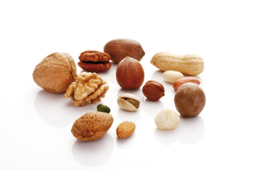 Nut - Food「Variety of nuts with kernels」:スマホ壁紙(4)