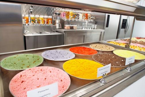 Ice Cream Parlor「Variety of ice cream flavors」:スマホ壁紙(3)