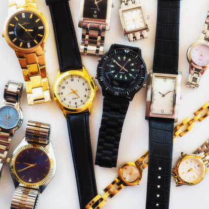 時計「Variety of wrist watches」:スマホ壁紙(9)