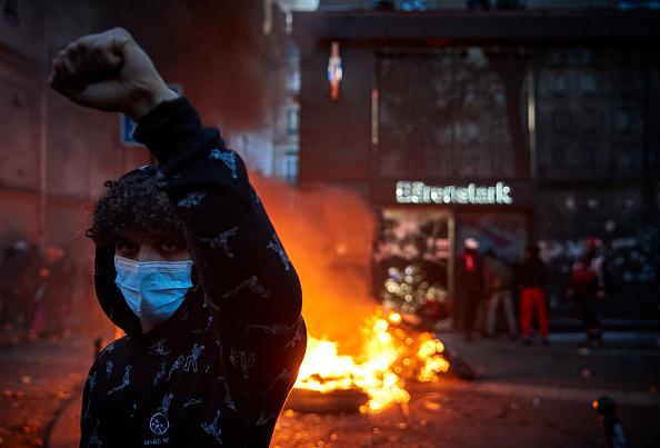 Paris - France「Demonstration Against Global Security Law In Paris」:写真・画像(4)[壁紙.com]