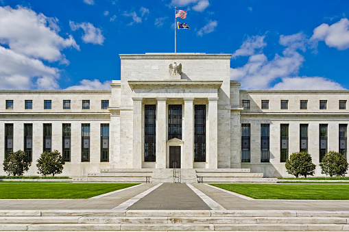 Mid-Atlantic - USA「Federal Reserve Building in Washington, DC」:スマホ壁紙(8)