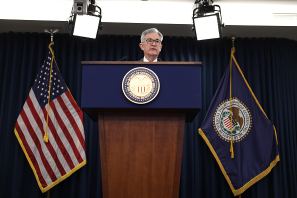Alex Wong「Federal Reserve Chair Jerome Powell Holds News Conference On Interest Rates」:写真・画像(7)[壁紙.com]