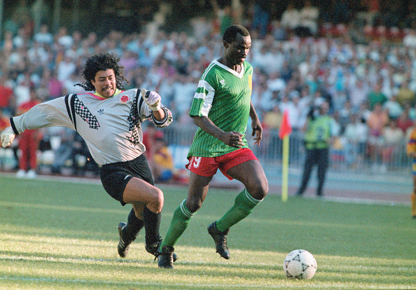 1990-1999「1990 FIFA World Cup Cameroon v Colombia Naples Italy」:写真・画像(10)[壁紙.com]