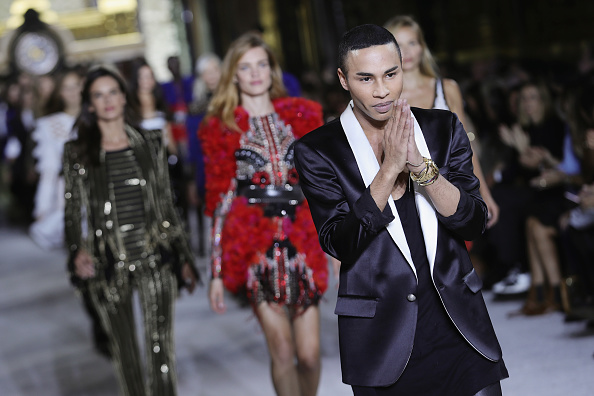 Olivier Rousteing - Fashion Designer「Balmain : Runway - Paris  Fashion Week Womenswear Spring/Summer 2018」:写真・画像(2)[壁紙.com]