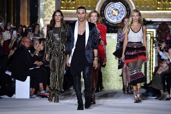 Olivier Rousteing - Fashion Designer「Balmain : Runway - Paris  Fashion Week Womenswear Spring/Summer 2018」:写真・画像(10)[壁紙.com]