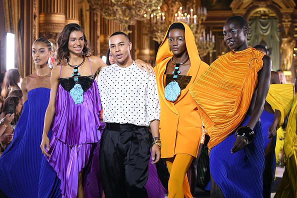 Finishing「Balmain : Runway - Paris Fashion Week - Womenswear Spring Summer 2020」:写真・画像(5)[壁紙.com]