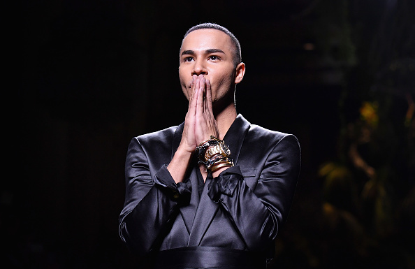 Olivier Rousteing - Fashion Designer「Balmain : Runway - Paris Fashion Week Womenswear Spring/Summer 2017」:写真・画像(8)[壁紙.com]