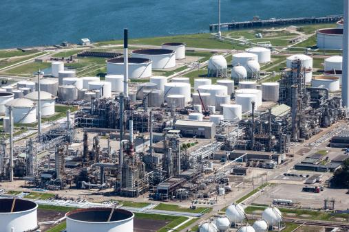 Netherlands「Petrochemical industry aerial」:スマホ壁紙(11)
