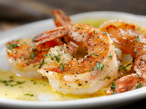 Garlic「Jumbo Tiger Prawn Scampi」:スマホ壁紙(18)