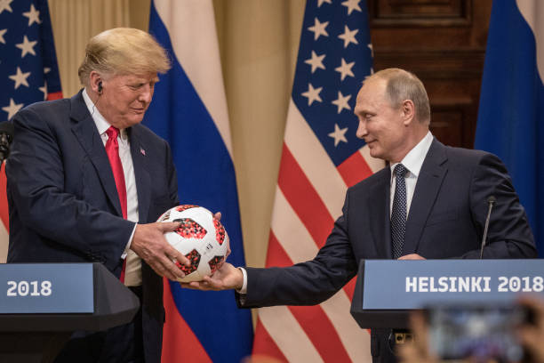 President Trump And President Putin Hold A Joint Press Conference After Summit:ニュース(壁紙.com)