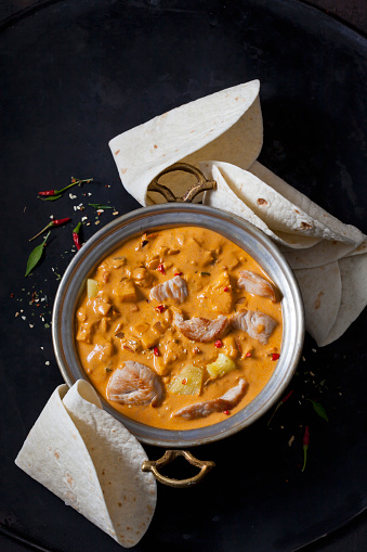 Turkey - Bird「Curry dish with turkey and pineapple in curry sauce」:スマホ壁紙(2)