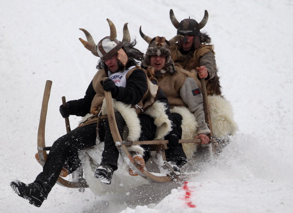 Garmisch-Partenkirchen「Traditional Horn Sled Race」:写真・画像(6)[壁紙.com]