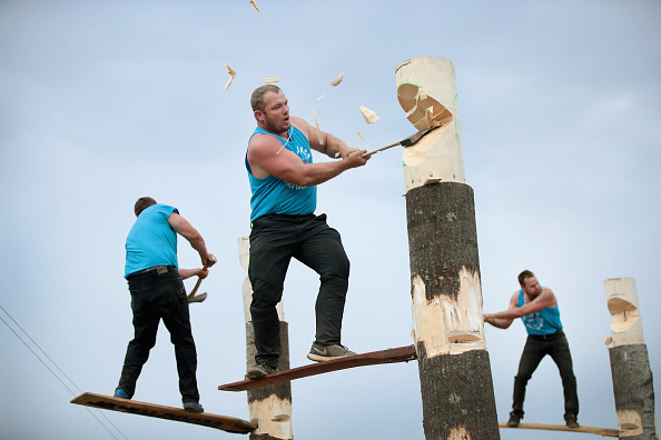 Participant「Lumberjack World Championships Held In Wisconsin」:写真・画像(11)[壁紙.com]