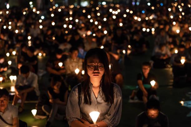 Hong Kong Remembers Tiananmen Massacre Anniversary:ニュース(壁紙.com)