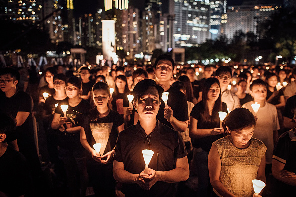 Candlelight「Vigil Held To Mark 26th Anniversary Of The 1989 Tiananmen Square Crackdown」:写真・画像(19)[壁紙.com]