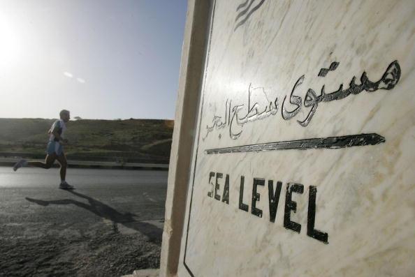 Jordan - Middle East「Ultra Marathon Runers Compete Below Sea Level In Jordan」:写真・画像(14)[壁紙.com]