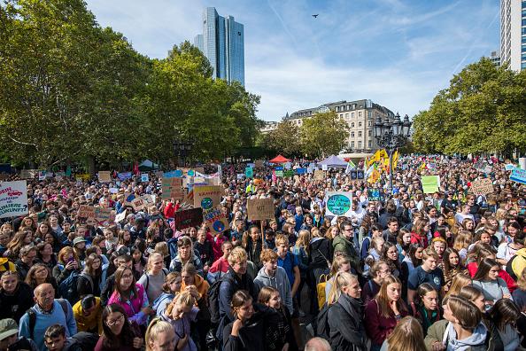 Strike - Protest Action「Global Climate Strike: Frankfurt」:写真・画像(8)[壁紙.com]