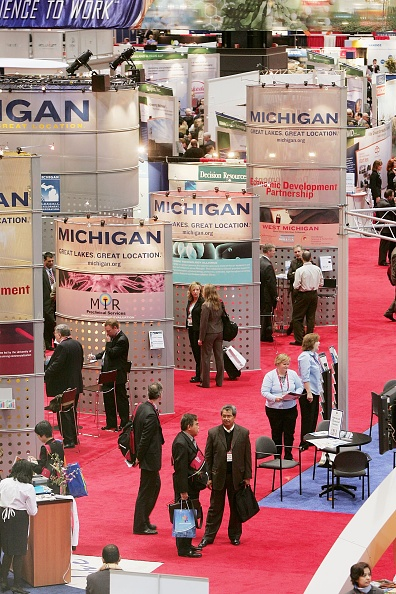 Tradeshow「Biotechnology Business Leaders Meet In Chicago For Bio 2006」:写真・画像(9)[壁紙.com]