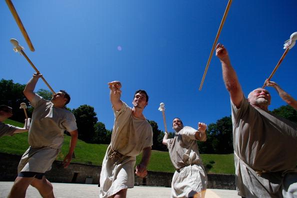 Trier「Gladiator School Teaches Participants Ancient Combat Skills」:写真・画像(14)[壁紙.com]